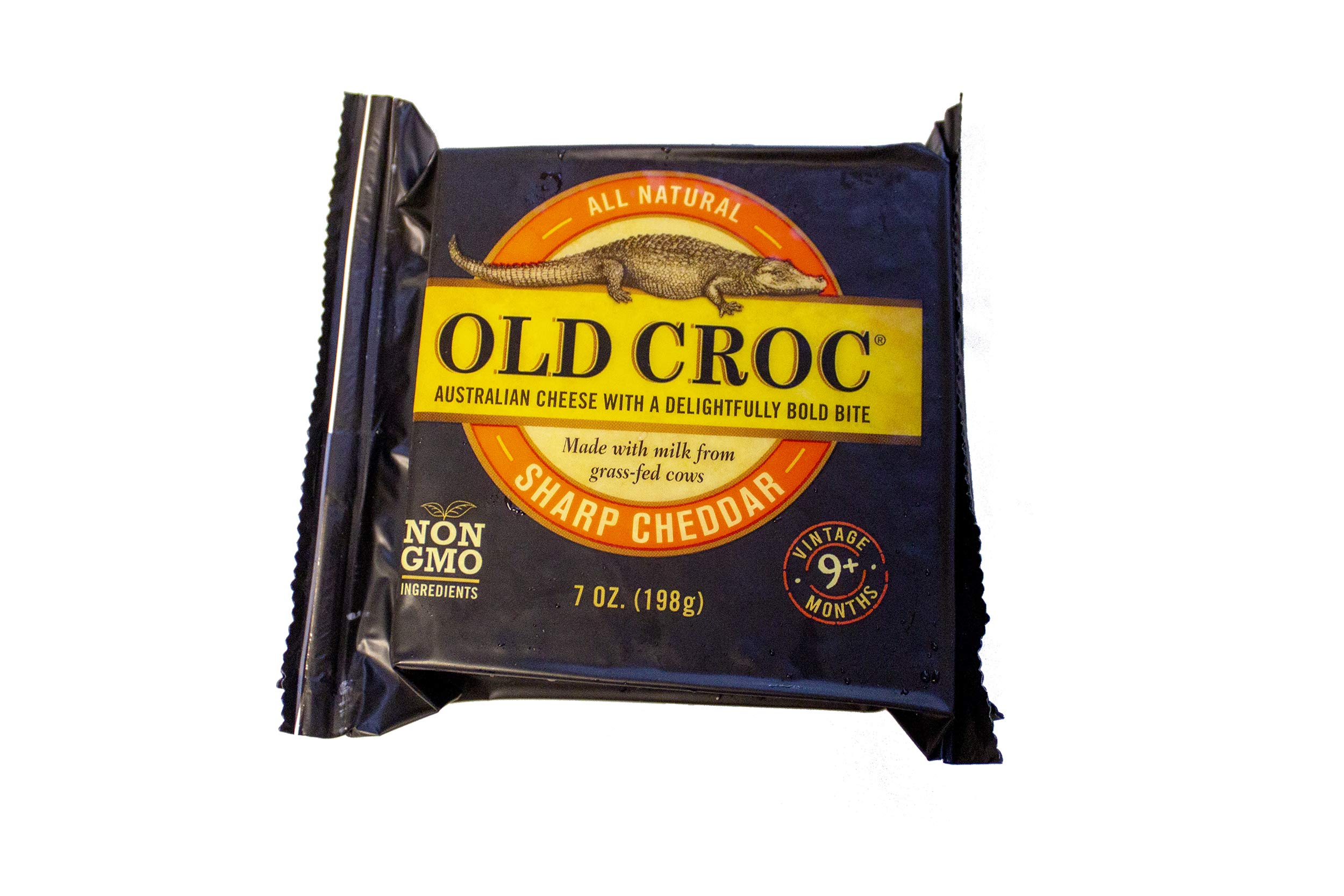 Old Croc, Sharp Cheddar, 7 Oz Each, 12 Chunks by Old Croc (Image #2)