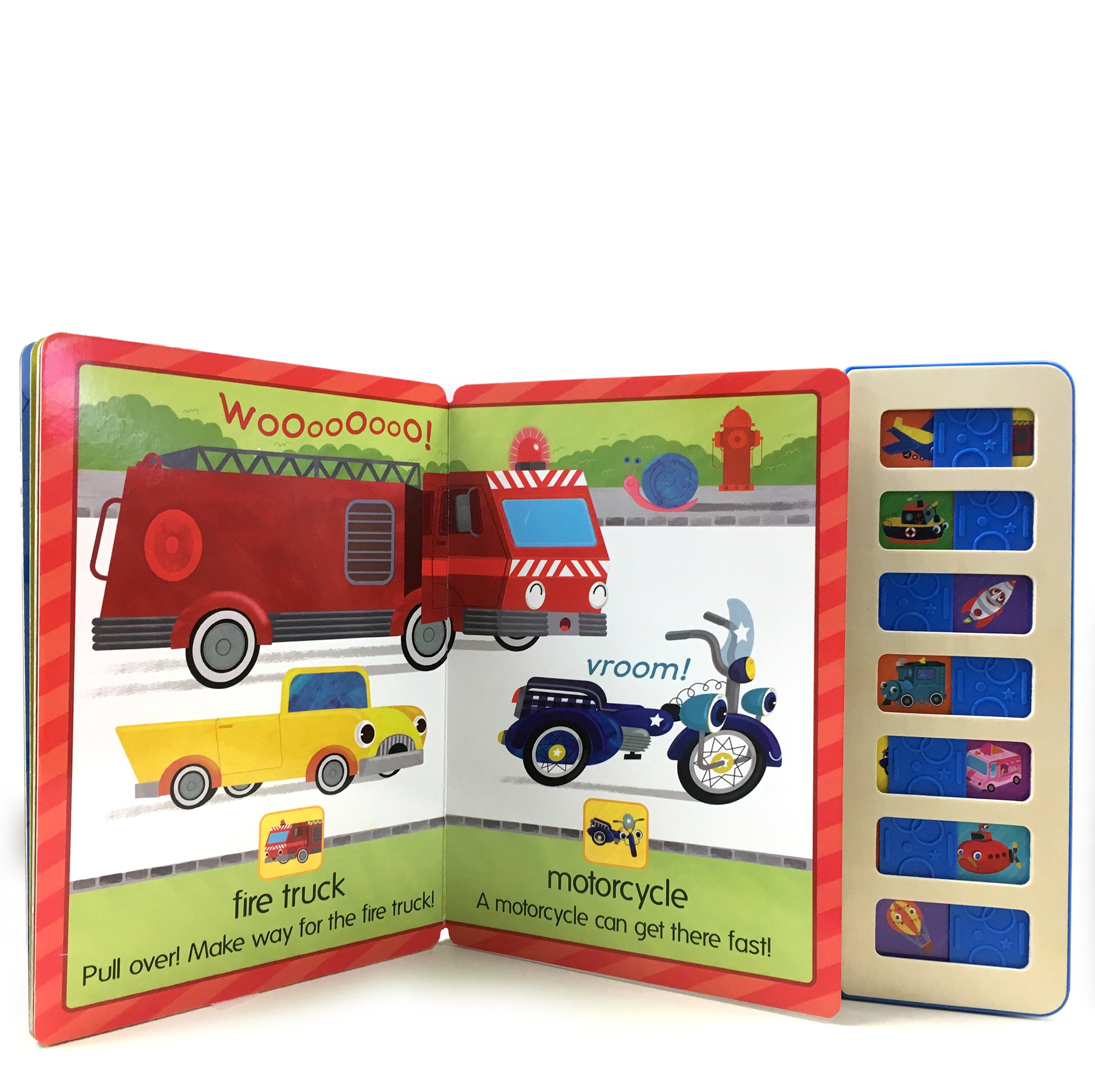 Beep! Honk! Zoom!: Interactive Children's Slide and Sound Book (Slide & Sound)
