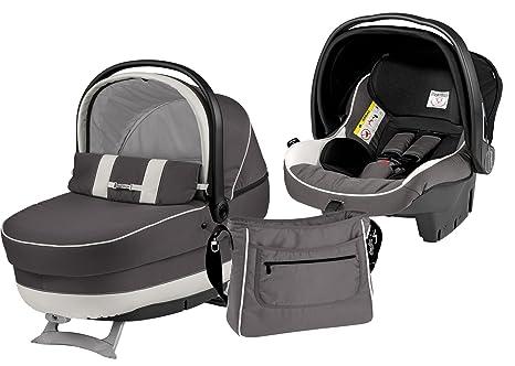 Peg-Pérego Modular XL - Conjunto de capazo, silla de coche, grupo 0