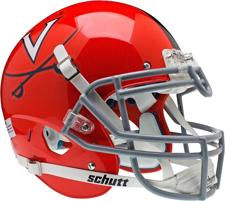 Schutt NCAA Virginia Cavaliers Collectible On-Field Authentic Football Helmet
