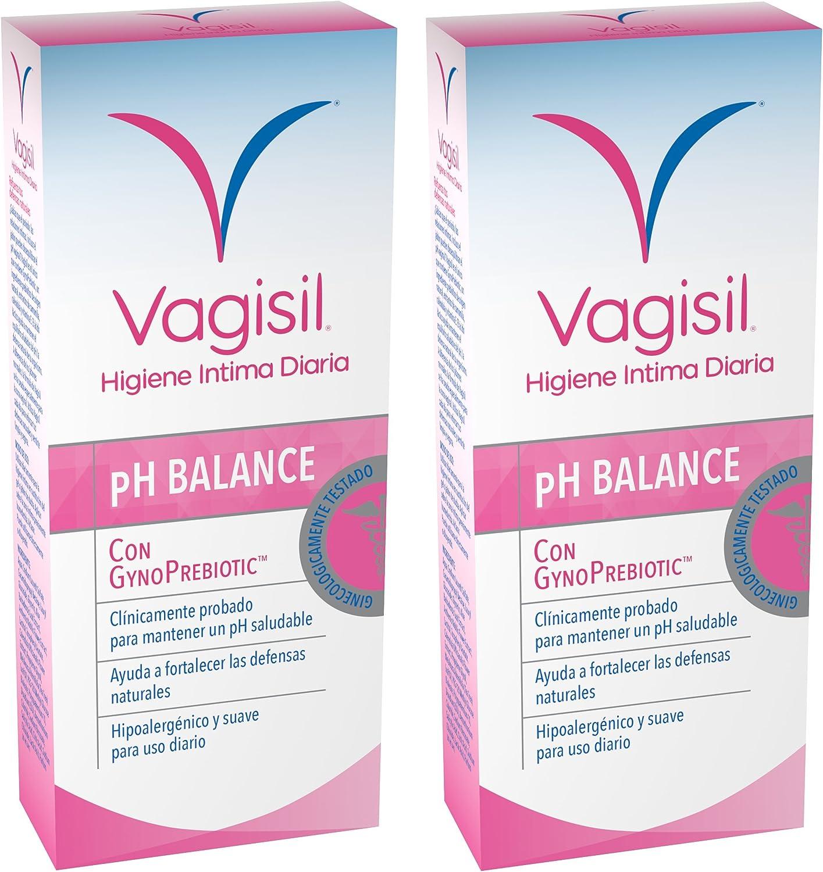 VAGISIL Higiene intima prebiotico - pack de 2 x 250ml - Total 500ml