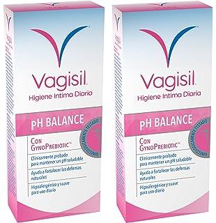 VAGISIL Gel de Higiene intima prebiotico - Pack de 2 x 250ml - Total 500ml
