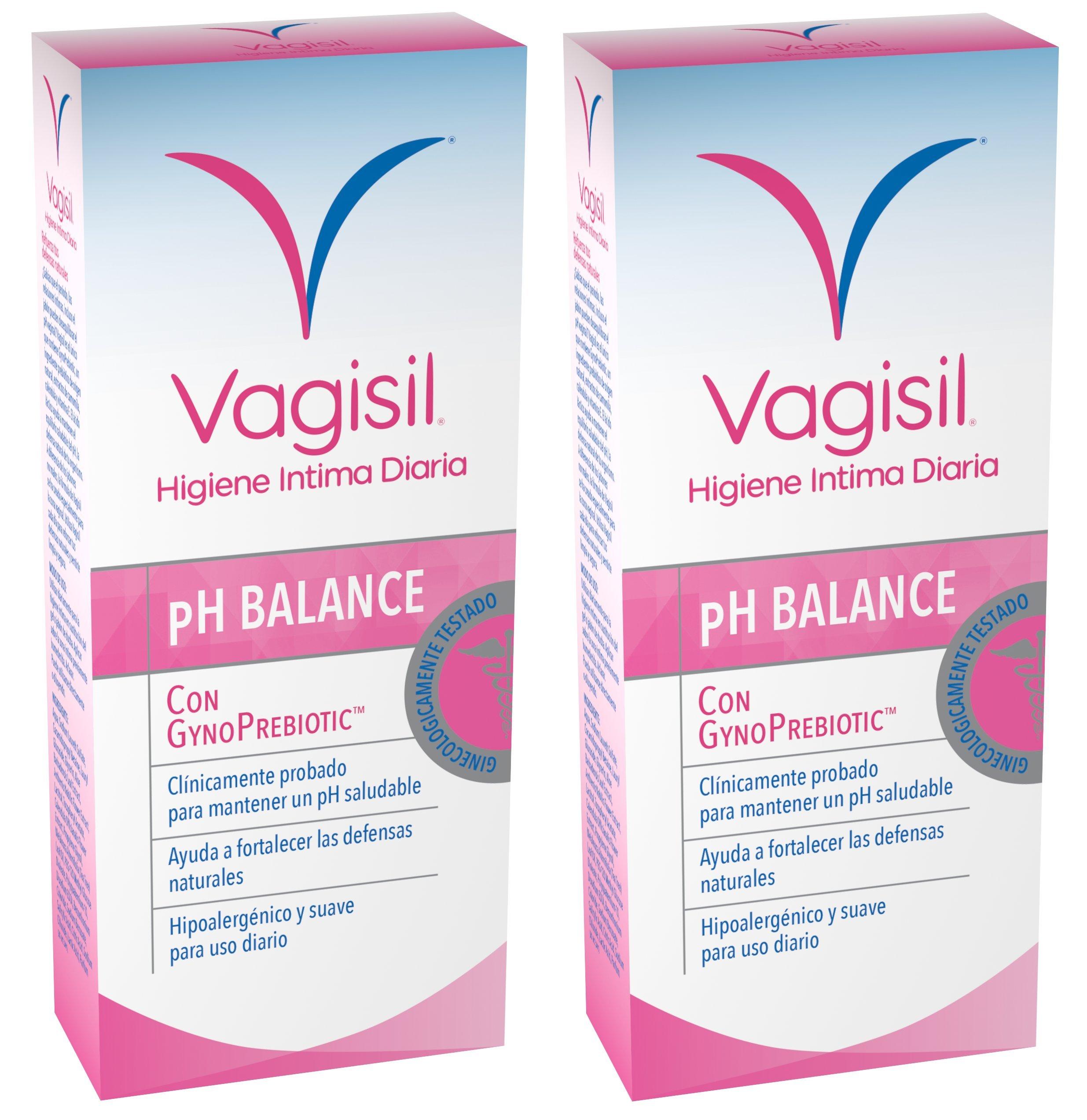VAGISIL Higiene intima prebiotico - pack de 2 x 250ml - Total 500ml product image