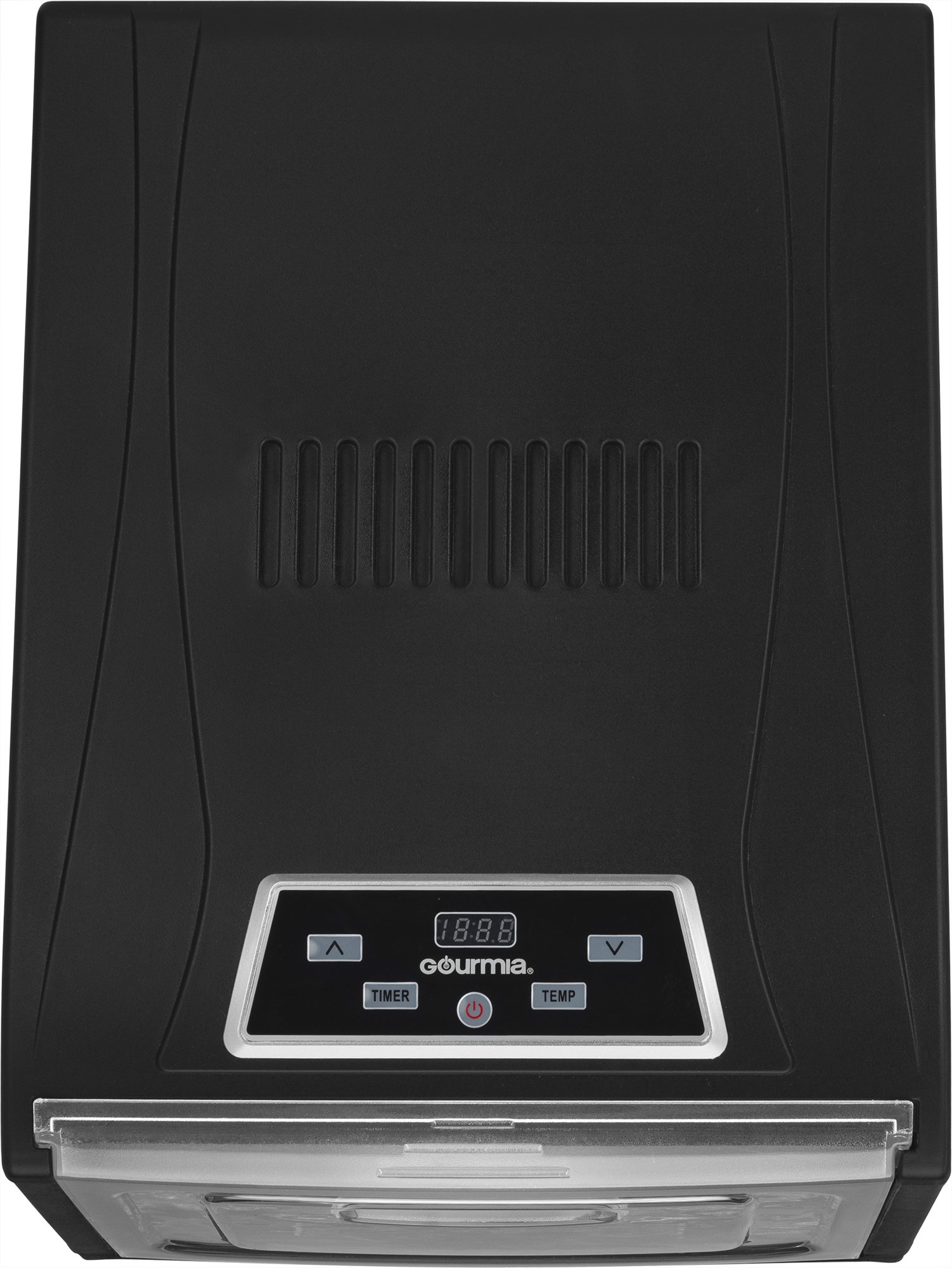 Gourmia GFD1950 Digital Food Dehydrator - 9 Drying Trays Plus Fruit Leather Tray - Digital Temperature Control - Transparent Window - Free recipe Book Included by Gourmia (Image #4)