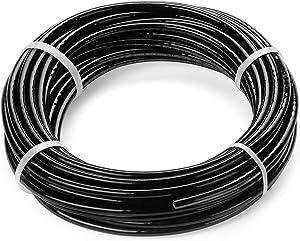 4 AWG Stranded THHN Black Wire - 100 Feet - 600 Volt 90C