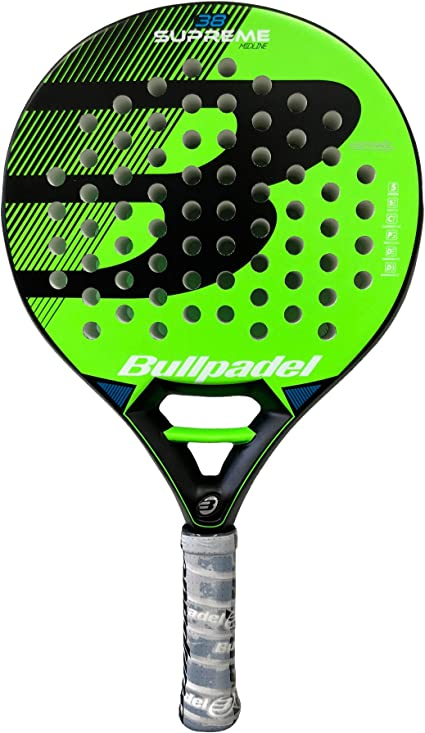 Pala de pádel Bullpadel Supreme Green: Amazon.es: Deportes y aire ...