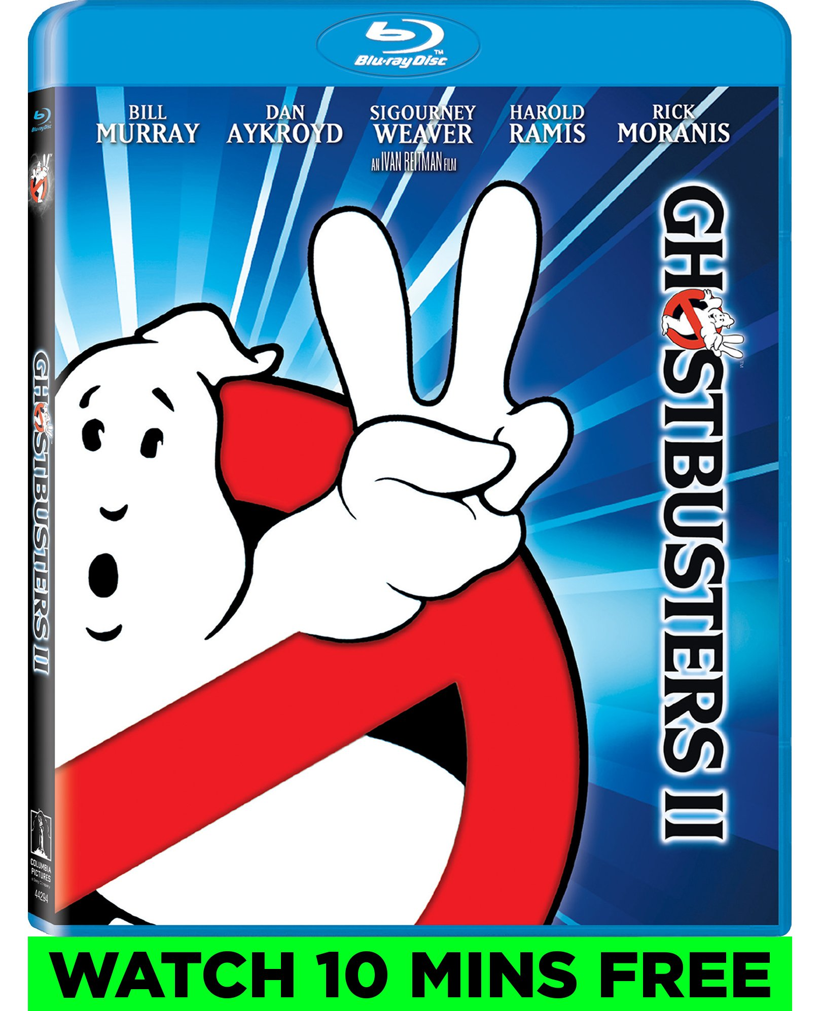 Blu-ray : Ghostbusters II (4K-Mastered) (4K Mastering, Dolby, AC-3, , Dubbed)