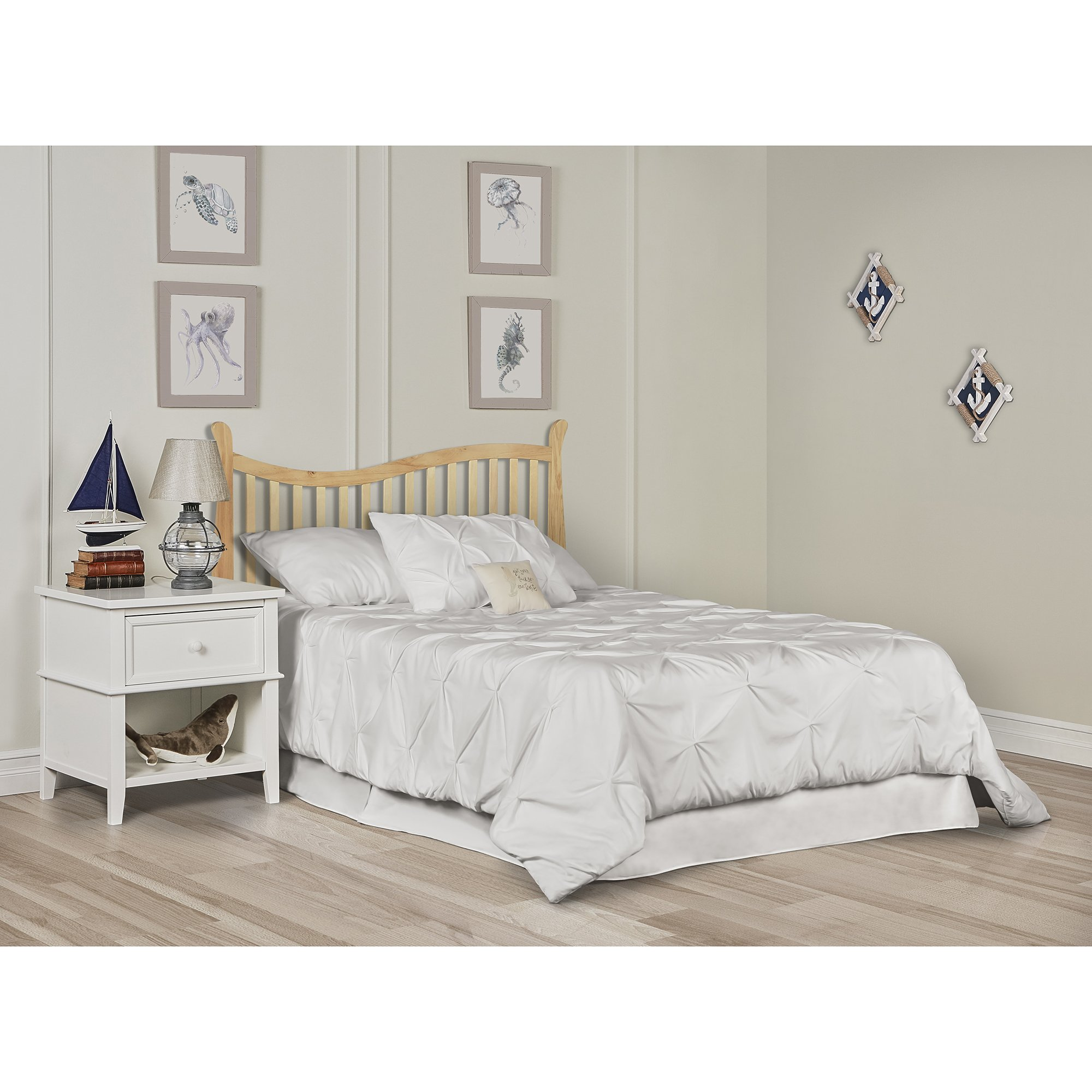 Dream On Me Violet 7 in 1 Convertible Life Style Crib, Natural by Dream On Me (Image #7)
