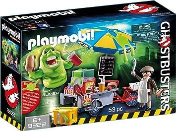 PLAYMOBIL Ghostbusters Slimer con Stand de Hot Dog, a Partir de 6 ...