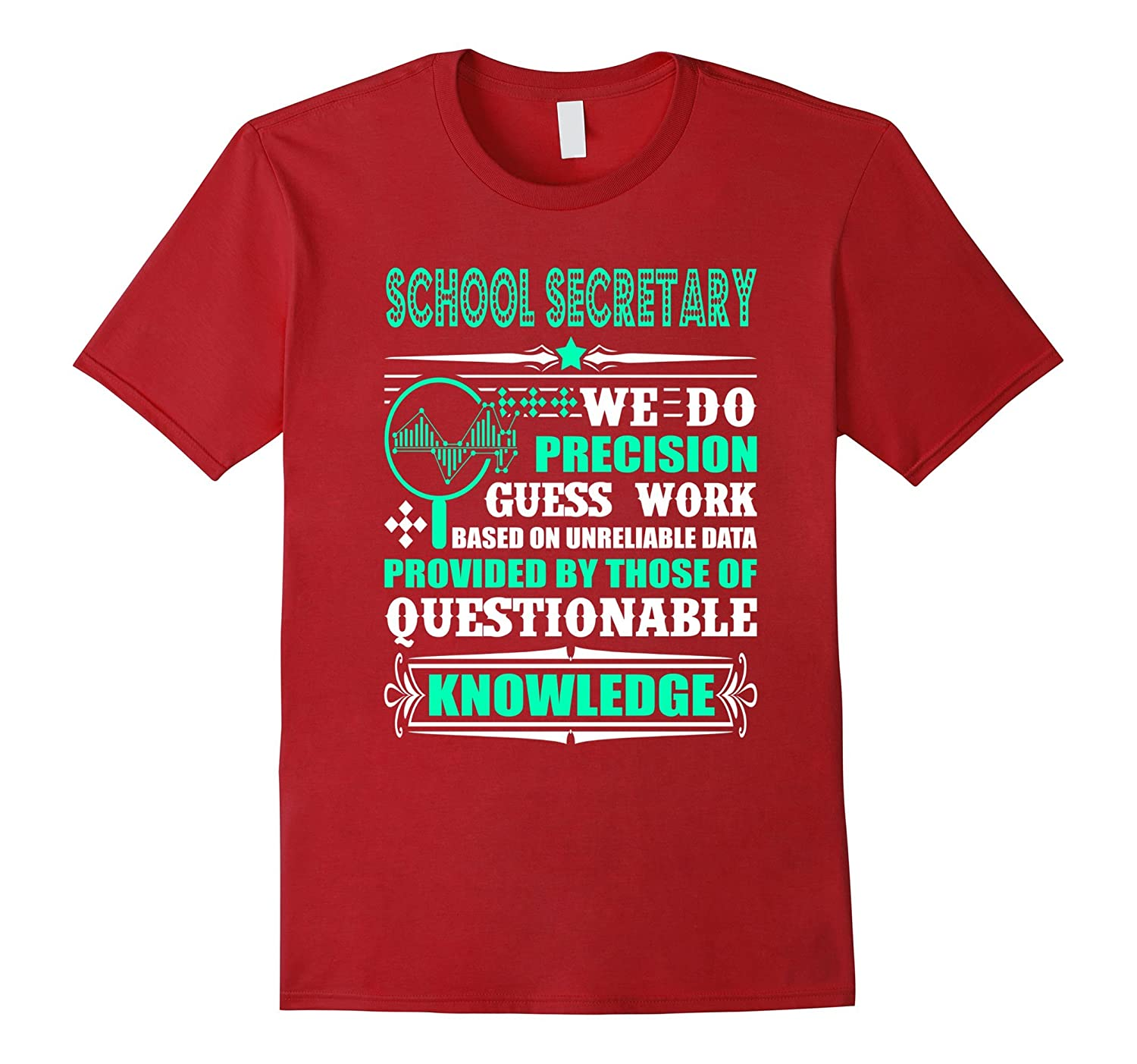 School Secretary Shirt For Women And Men