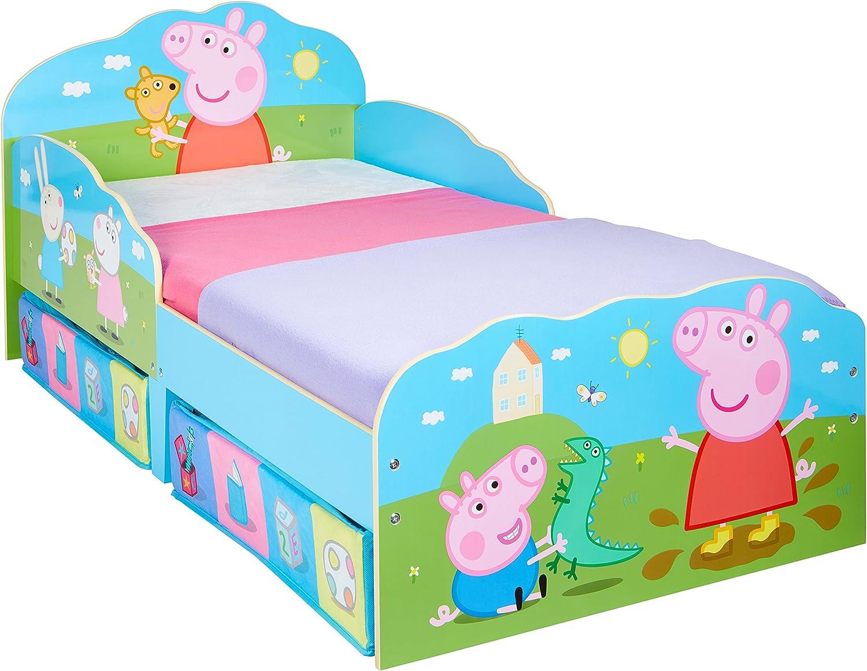 Peppa Pig Toddler Bed with Storage: Amazon.de: Küche & Haushalt