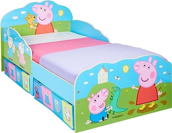Rosa Legno Hello Home Peppa Pig Lettino con cassettone 142/x 77/x 63/cm
