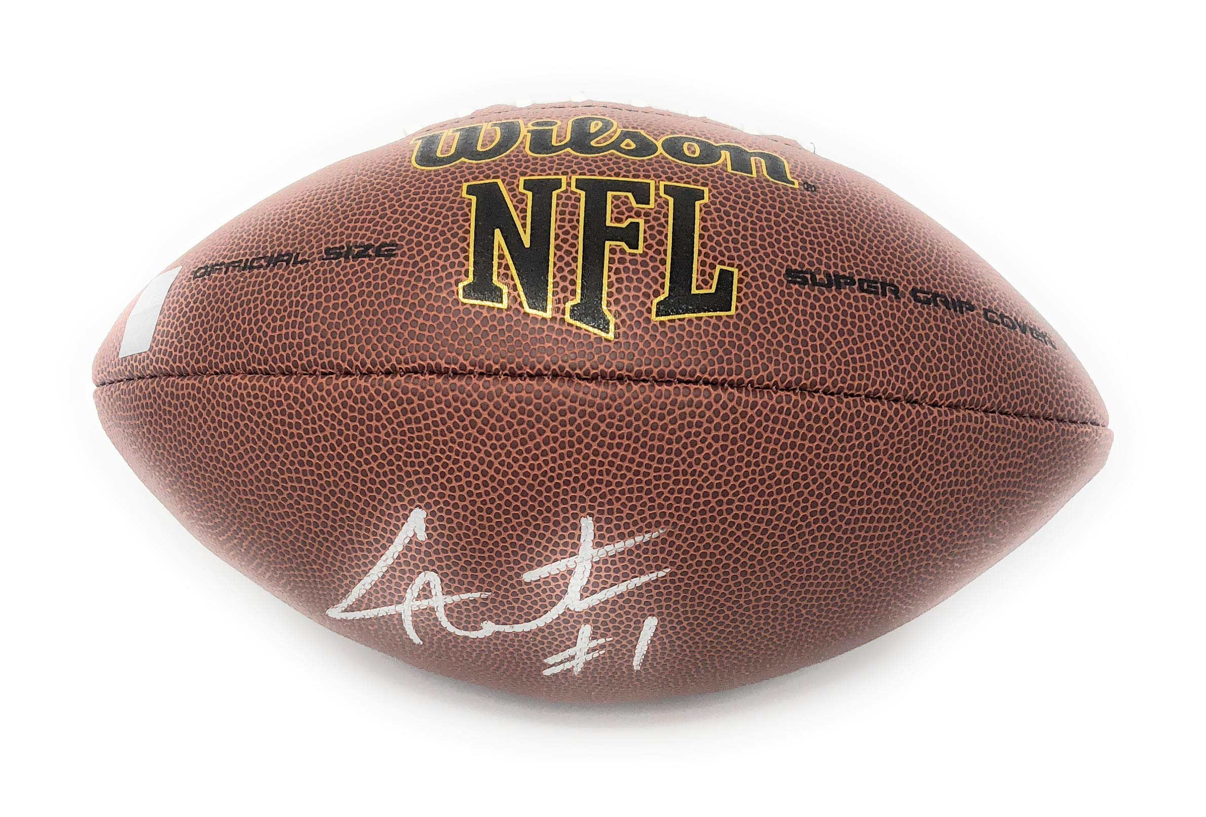Cam Newton Carolina Panthers Signed Autograph NFL Football Newton GTSM Player Hologram