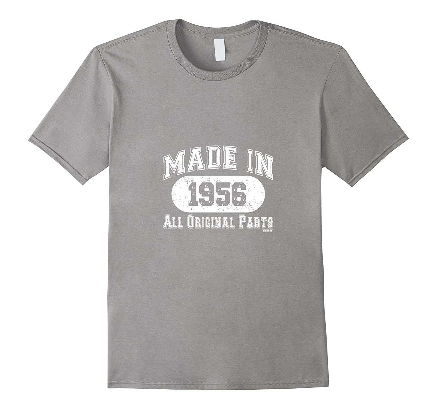Made In 1956 All Original Parts Funny Birthday T-Shirt w