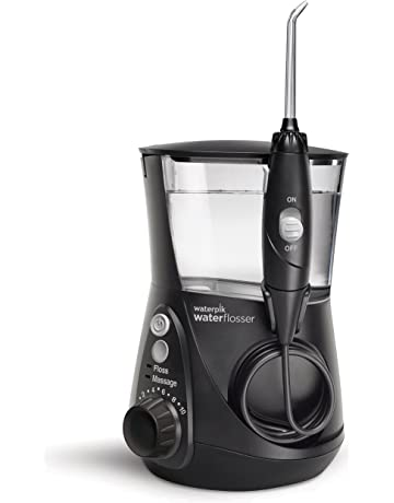 Waterpik WP-662EU Irrigador Bucal Eléctrico Irrigador Dental, Color Negro