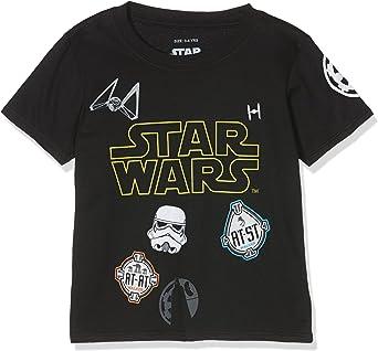 Star Wars Jungen Imperial Multi Badge T-Shirt