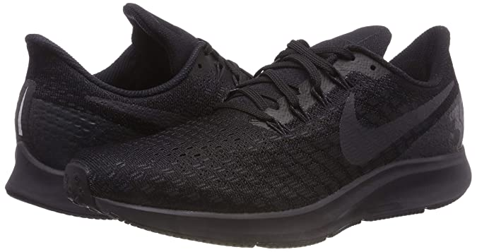 Amazon.com | NIKE Mens Air Zoom Pegasus 35 Running Shoe Black/Oil Grey/White Size 10.5 M US | Road Running