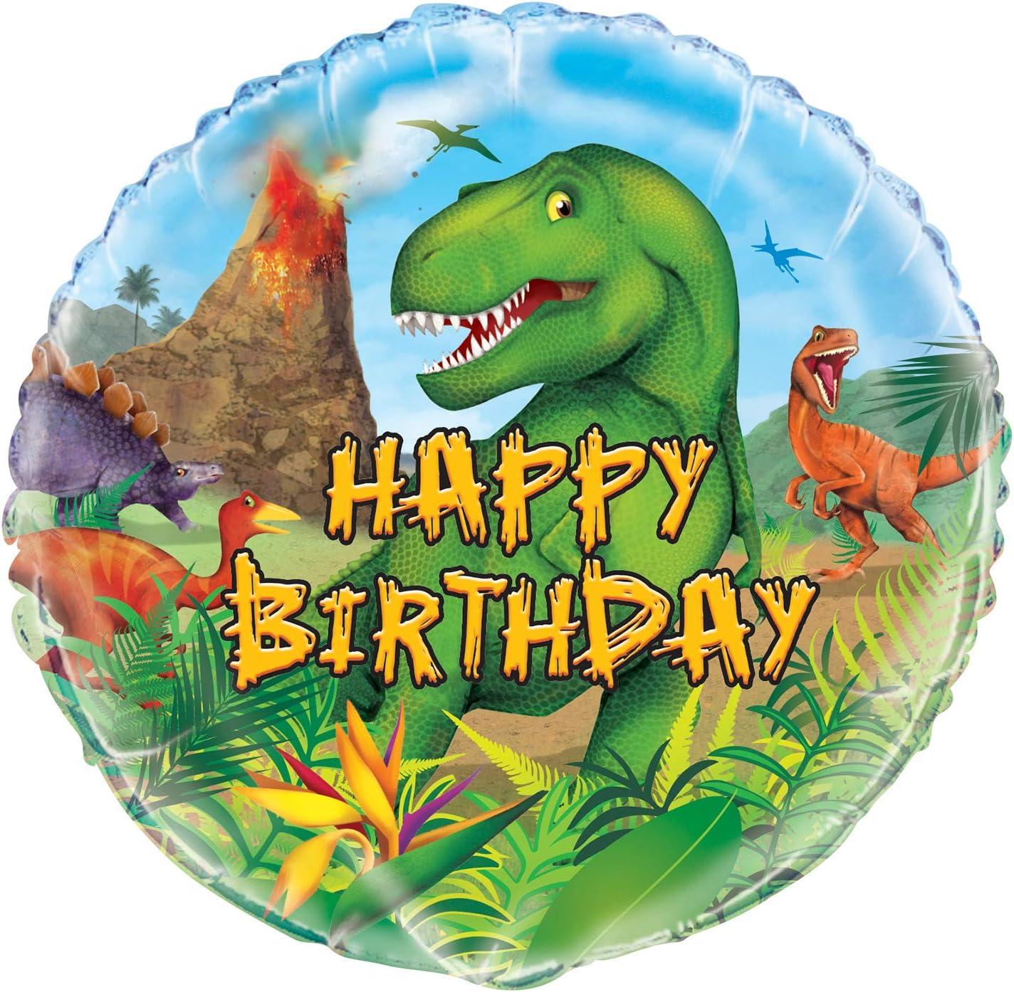 "Diplodocus Blue Dinosaur 43/"" SuperShape Large Foil Balloon Boys Party Decoration"