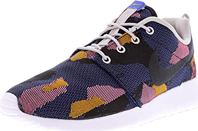 NIKE Wmns Roshe One JCRD Print Women Lifestyle Casual Sneakers New Game  Royal - 6
