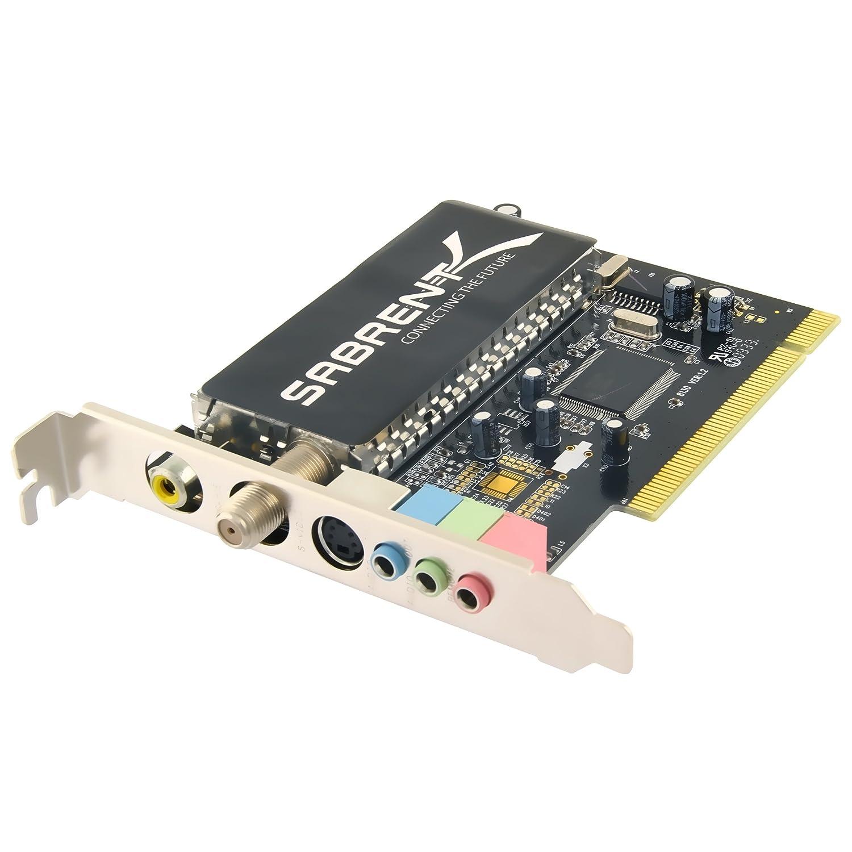 Amazon.com: Sabrent TV Tuner/Video Capture/DVR/DVD Maker PCI Card with  Remote Control (Analog NTSC) TV-PCIRC: Electronics