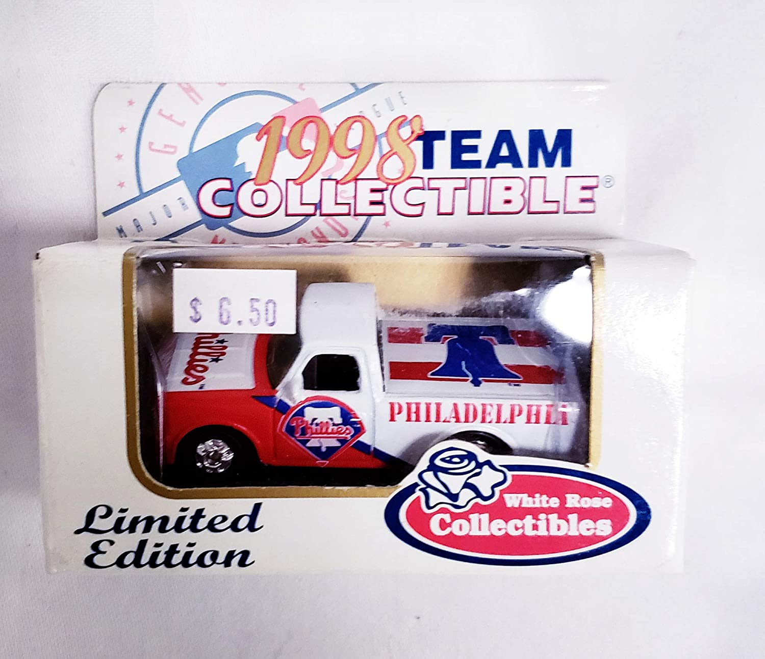 Philadelphia Phillies 1998 Limited Edition Ford F-150 Pick Up Truck Die Cast Collectible