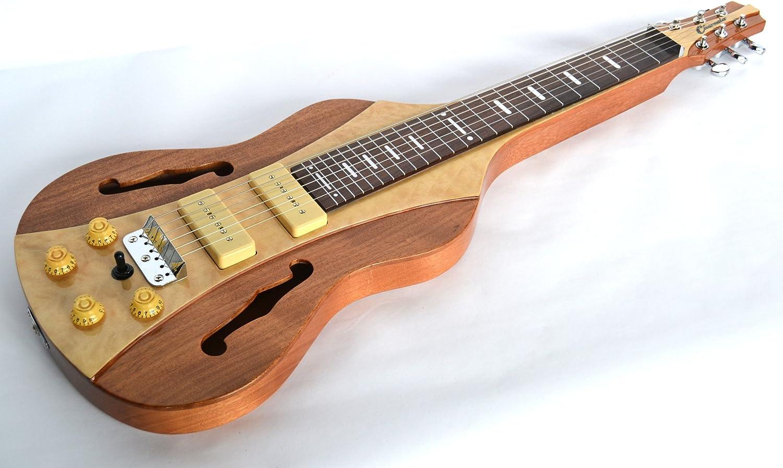 CLEARWATER - Guitarra de Palanca de Acero Inoxidable con Acabado ...
