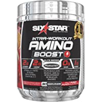 Six Star Amino Boost, BCAA Powder, Fruit Punch, 30 Servings