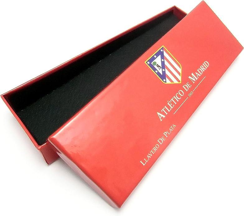 Llavero escudo Atlético de Madrid Plata de ley calado [7034] - Modelo: PATLL-3: Amazon.es: Joyería