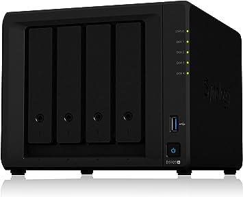 Synology DS920+ - Caja para NAS de 4 bahías: Amazon.es: Informática