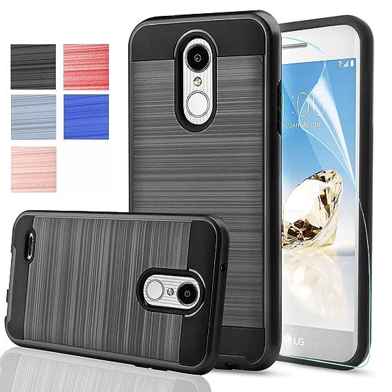 timeless design ae9f4 b8d7e AnoKe for LG Aristo 2 Plus Case LG Aristo 2/ LG Aristo 3 /Tribute  Empire/Tribute Dynasty/Zone 4/ Fortune 2/ K8 2018/ Risio 3/ Rebel 3 LTE  with HD ...