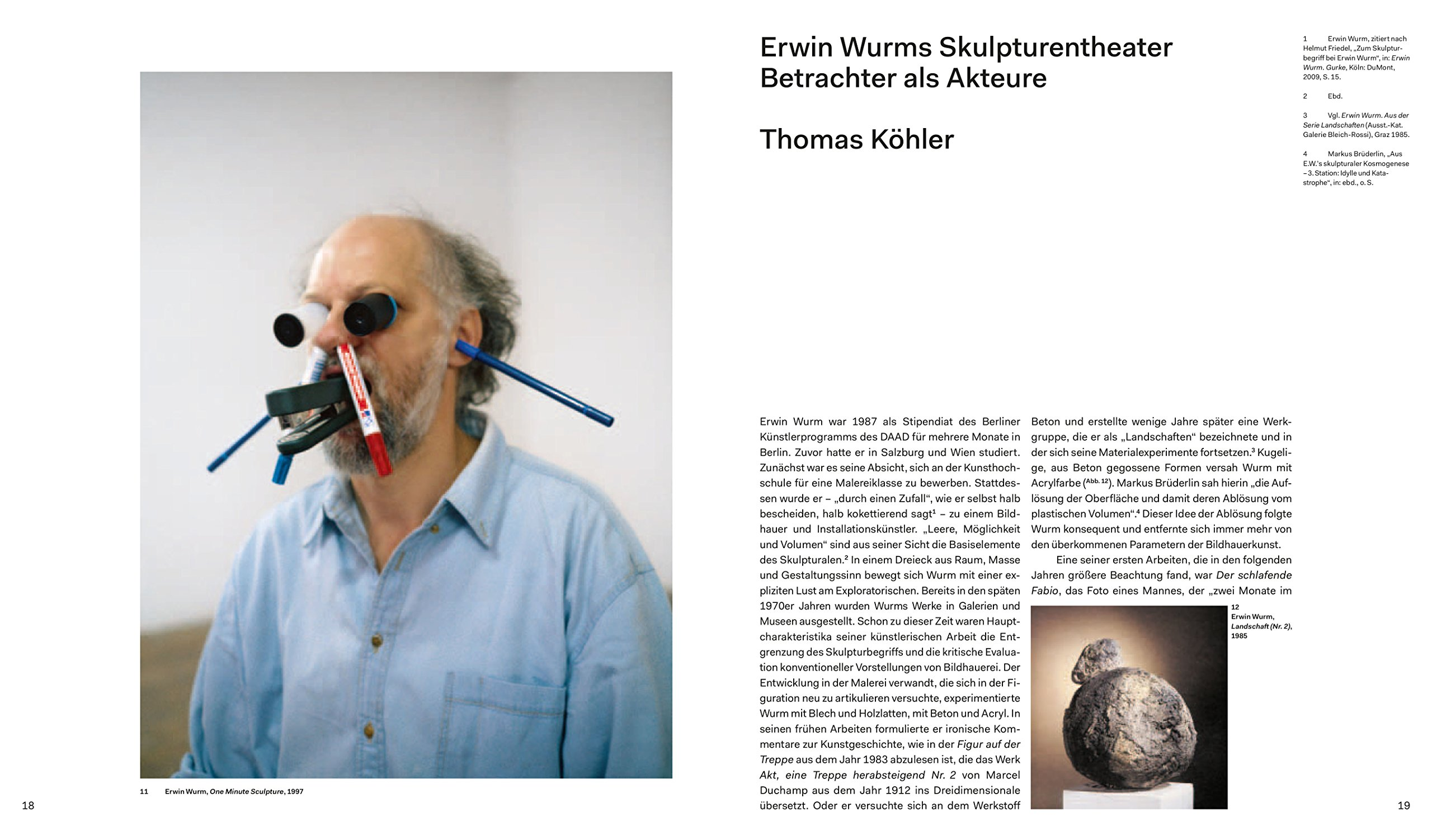 erwin wurm amazon co uk berlinische galerie books