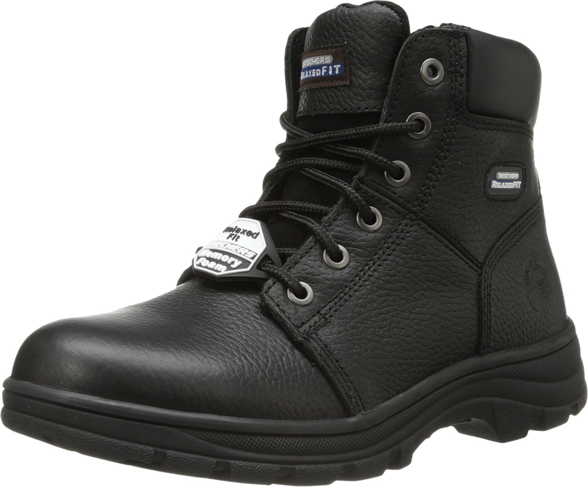 Skechers for Work Men's Workshire Condor Work Boot,Black,10 M US