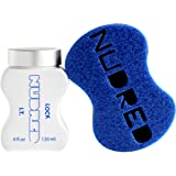 Lock I.T. Travel Size SET | Strong but Soft Hold with BLUE Brush | The Original NUDRED Natural Hair Care System