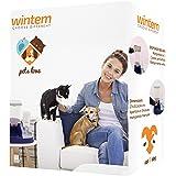 Distributore automatico di Acqua e Cibo per cani e gatti Mangiatoia con abbeveratoio - Wintem