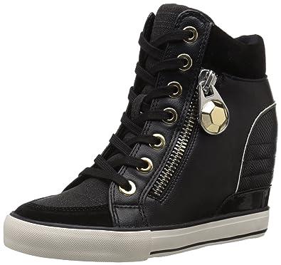 ALDO Women s AALESSA Fashion Sneaker Black Multi 5 ...
