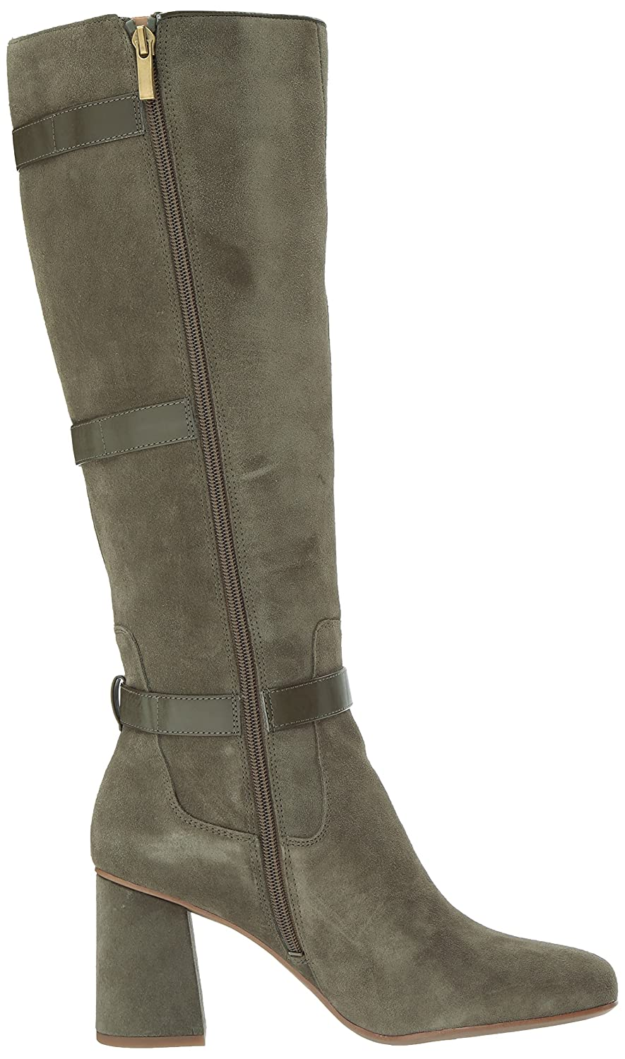 Franco Sarto Women's Knoll Knee High Boot B0751NBZQS 9 B(M) US|Pastoral Green