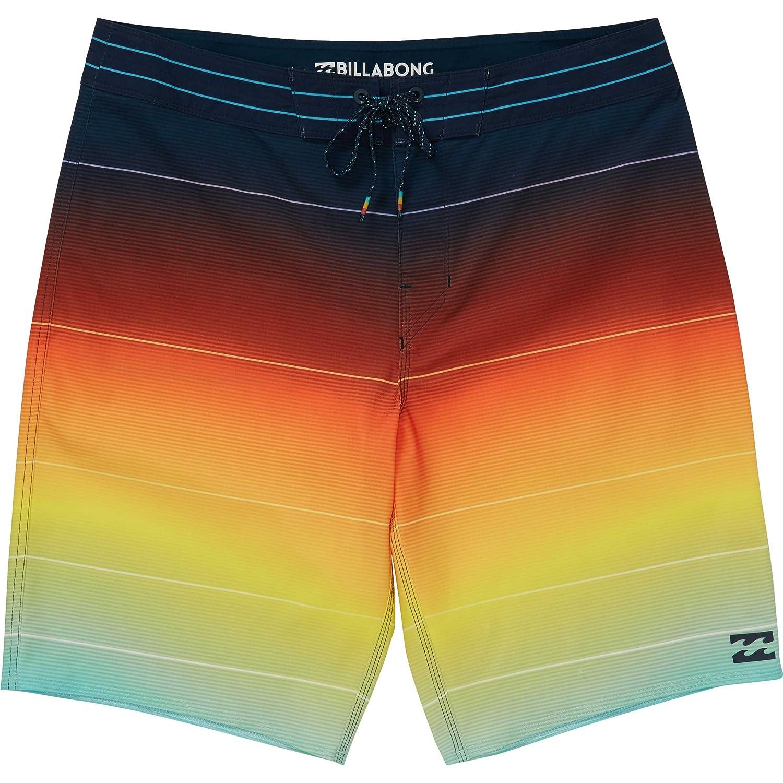 Billabong SHORTS メンズ B073C8Q5LR L|オレンジ オレンジ L