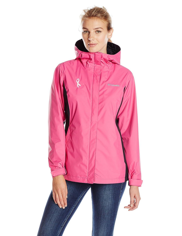 Columbia Women's Tested Tough In Pink Rain Jacket Ii 1567321