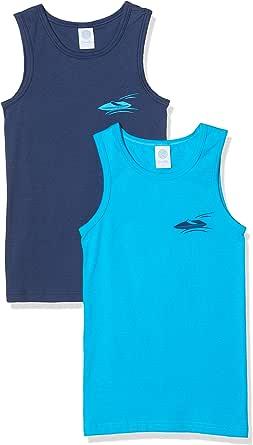 Sanetta Unterhemd Doppelpack Camiseta sin Mangas para Niños