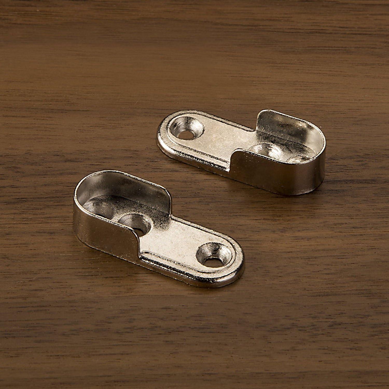 SO-TECH/® Barra de Gabinete de Acero Fino 1000 mm REDONDO /Ø 25 mm con 2 piezas de Barra de Gabinete TUBE Barra de Perchero Inoxidable//Dise/ño se encuentra con la funci/ón
