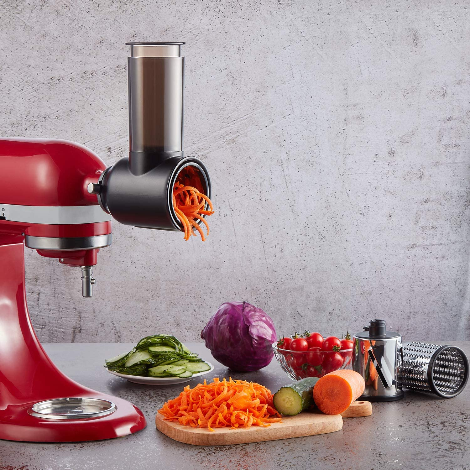 Cheese Grater Shredder Attachments for Kitchenaid Stand Mixer ...