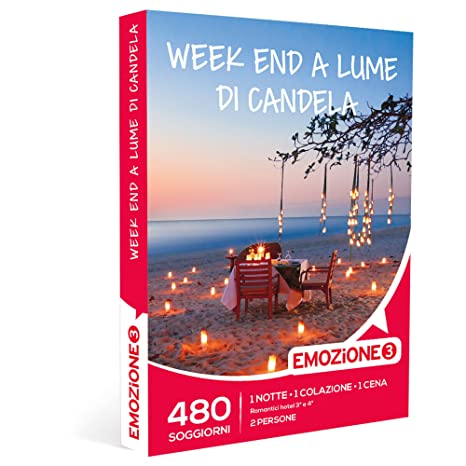 EMOZIONE3 - Cofanetto Regalo - WEEK END A LUME DI CANDELA - 480 ...