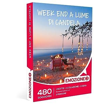 EMOZIONE3 - Cofanetto Regalo - WEEK END A LUME DI CANDELA - 480 ...