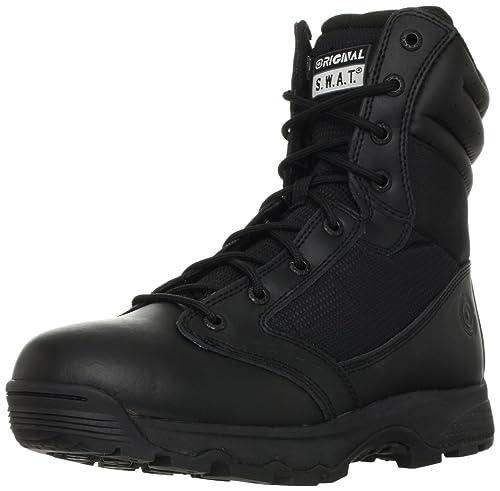 Original S.W.A.T. Men's WinX2 8-Inch Side-Zip Tactical Boot, Black, 5