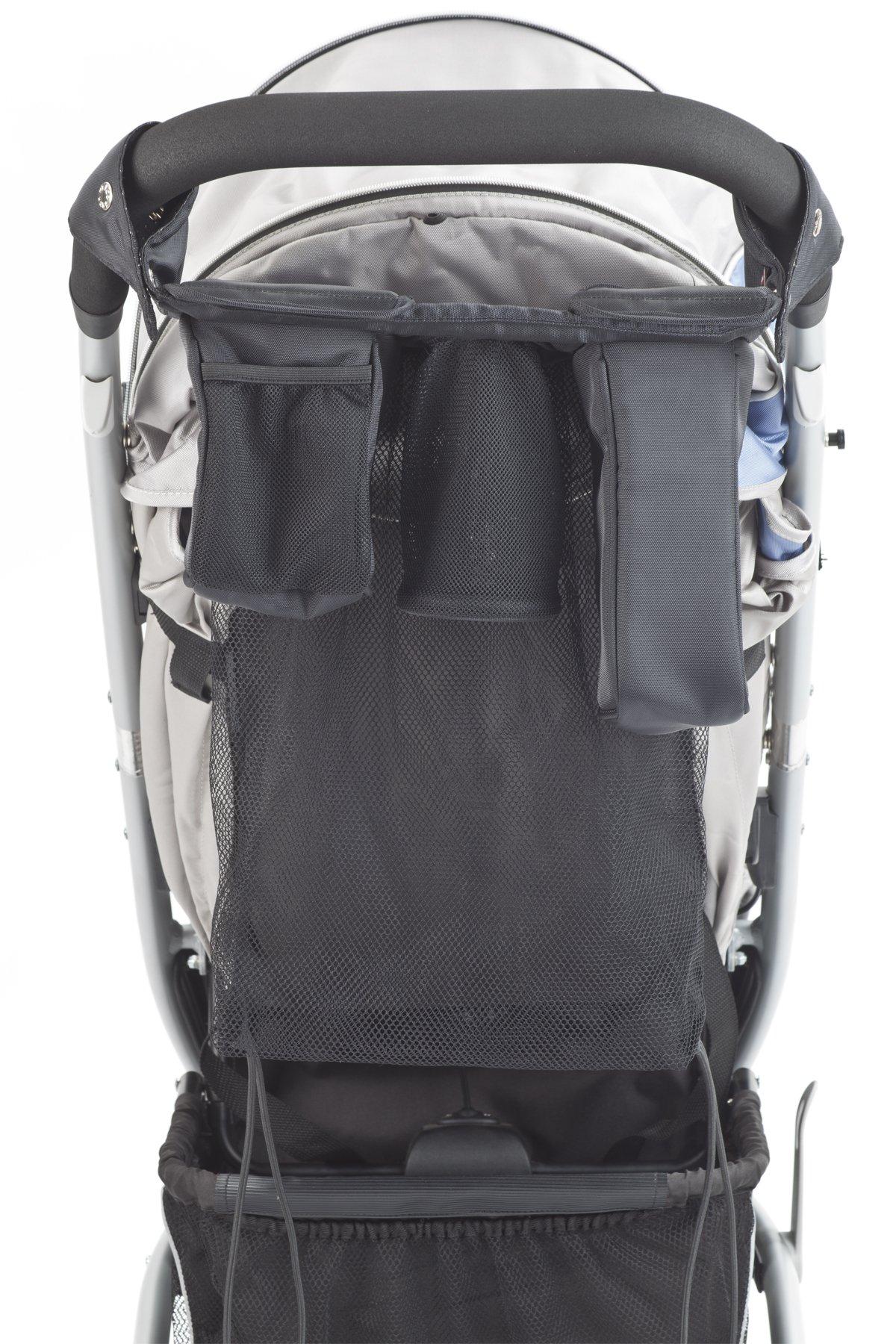 Valco Baby Stroller Caddy Organizer, Black, Universal by valco baby (Image #4)