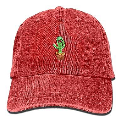 Rundafuwu Gorras de béisbol/Hat Trucker Cap Crying Cactus Cool ...