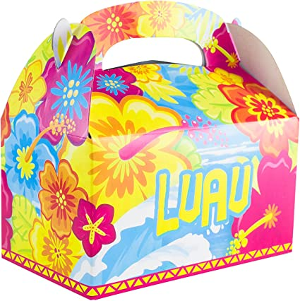 12 GIRLS Childrens Superhero Boxes ~ Picnic Carry Meal Box ~ Birthday Party Bag