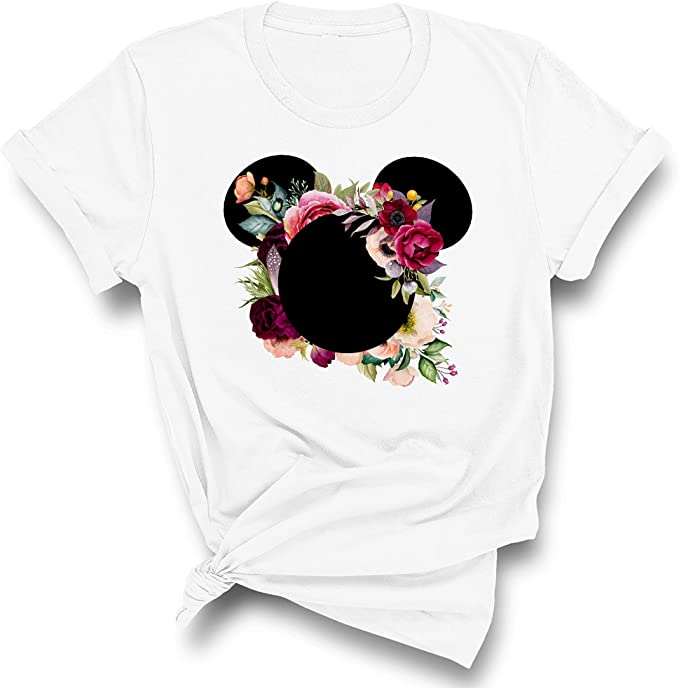 22 Disney Gifts for Mom featured by top US Disney blogger, Marcie and the Mouse: Disney floral shirt