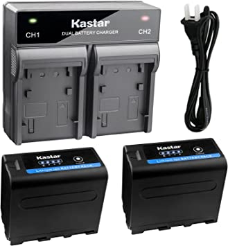 Charger Sony NP-F960 NP-F970 NP-F975 F950 BC-VM10 BC-VM50 BC-V615 New Battery