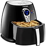 Chefman 2.5 Liter/2.6 Quart Air Fryer with Digital Display Adjustable Temperature Control for the Perfect Result in Frying a